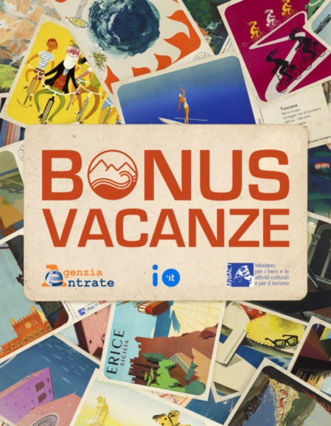 Accettiamo il BONUS VACANZE 2020!